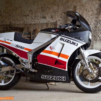 Suzuki RG Gamma 500 custom