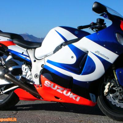Suzuki Hayabusa con grafica personalizzata