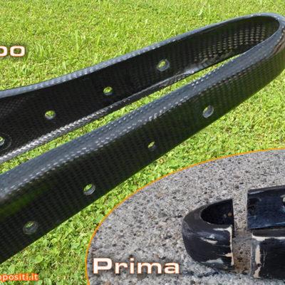 ripristino strutturale telaio Handbike